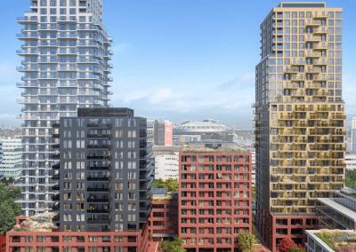 Amvest koopt 816 woningen in SPOT Amsterdam