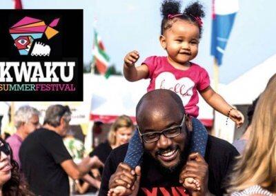 Kwaku Summer Festival 13 jul t/m 4 aug in het Nelson Mandelapark