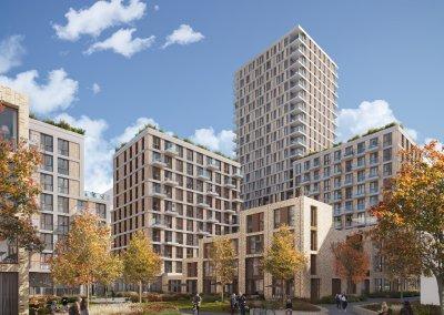 De Architect: Arons en Gelauff ontwerpt met Basic City 'Brisk' in Amstel III