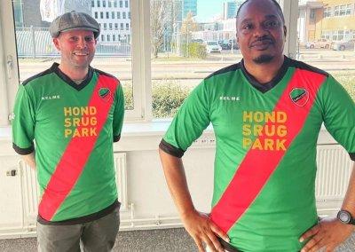 Hondsrugpark sponsor van voetbalclub Zuidoost United